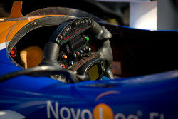 Steering wheel for Charlie Kimball, Novo Nordisk Chip Ganassi Racing Honda