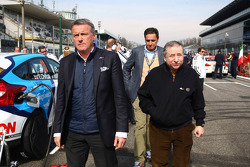 Jean Todt, President FIA, Yvan Muller