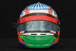 Narain Karthikeyan, HRT Formula One Team helmet