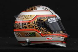 Jérôme d'Ambrosio, Lotus Renault F1 Team helmet