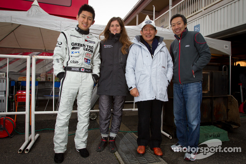 Haruki Kurosawa, Cyndie Allemann, Motoharu Kurosawa en Michael Kim