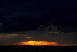 Sunrise over Melbourne