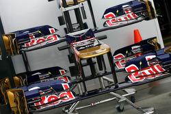 Scuderia Toro Rosso voorvleugels