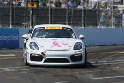 #7 KRUGSPEED, Porsche Cayman GT4 Clubsport MR: Cameron Maugeri