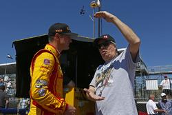 Ryan Hunter-Reay, Andretti Autosport, Honda, mit Robin Miller, Racer