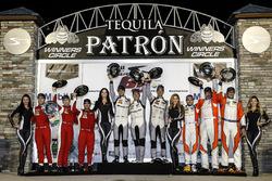 Подиум: №33 Riley Motorsports Mercedes AMG GT3: Йерун Блекемолен, Бен Китинг, Марио Фарнбахер; №63 Scuderia Corsa Ferrari 488 GT3: Кристина Нильсен, Алессандро Бальцан, Маттео Крессони; №75 SunEnergy1 Racing Mercedes AMG GT3: Борис Саид, Тристан Вотье, Кенни Хабуль