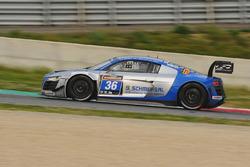 #36 Raeder Motorsport, Audi R8 LMS Ultra: Heinz Schmersal, Markus von Oeynhausen, Markus Oestreich