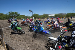 Aksi start race MXGP