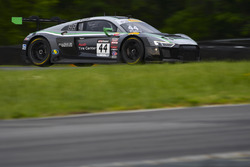 #44 Magnus Racing Audi R8 LMS: John Potter, Marco Seefried