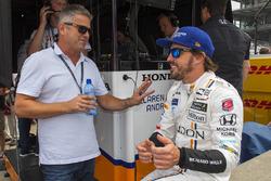 Fernando Alonso, Andretti Autosport Honda avec Gil de Ferran