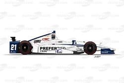 №21 Джей-Ар Хільдебранд, Ed Carpenter Racing Chevrolet