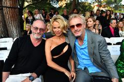 Liam Cunningham, Actor, Pamela Anderson, and Eddie Irvine