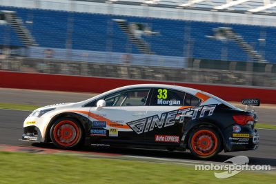 March Silverstone testing