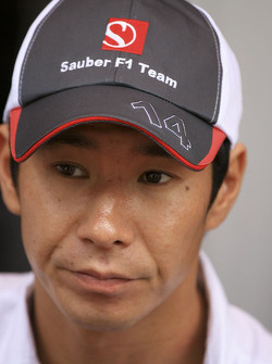 Kamui Kobayashi, Sauber Ferrari
