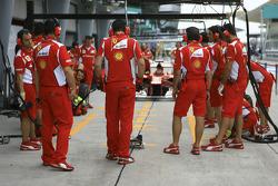 Scuderia Ferrari Practice