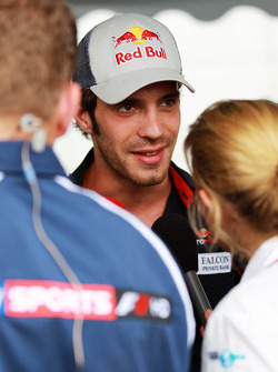 Jean-Eric Vergne, Scuderia Toro Rosso with the media