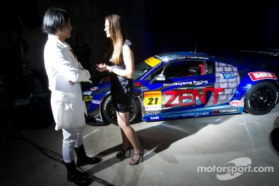 Präsentation Audi R8 GT Spyder in Tokio, Japan