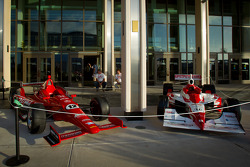 The new and old IndyCar welcome fans