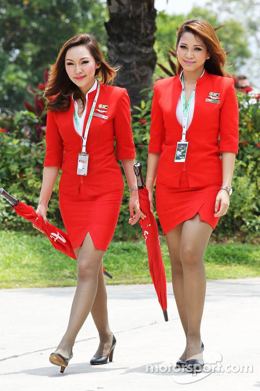 Air Asia Stewardess