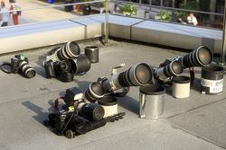 Cameras sun-bathing