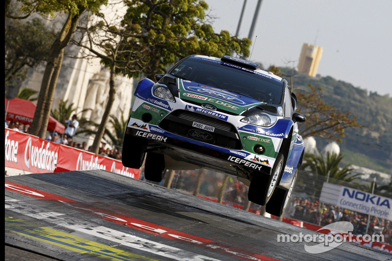 Jari-Matti Latvala en Miikka Anttila, Ford Fiesta RS WRC, Ford World Rally Team