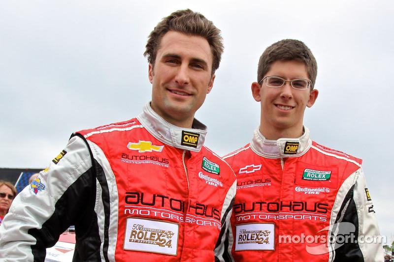 GT pole winners Paul Edwards, Jordan Taylor