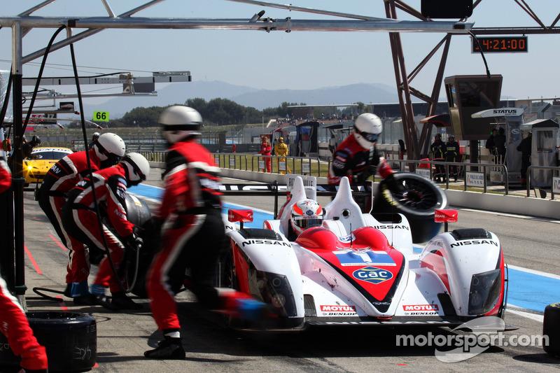 #1 Greaves Motorsport Zytek Nissan: Alex Brundle, Lucas Ordonez, Tom Kimber-Smith