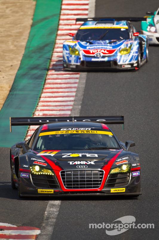 #11 Gainer Audi R8 LMS Ultra: Tetsuya Tanaka, Katsuyuki Hiranaka