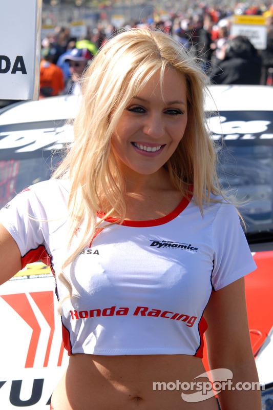 Honda Yuasa Racing Gridgirl