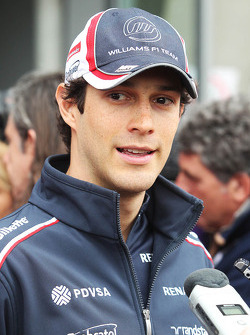 Bruno Senna, Williams met de media