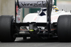 Bruno Senna, Williams diffuser