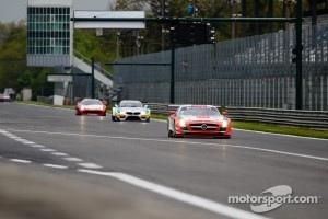 #18 Black Falcon Mercedes-Benz SLS AMG GT3: Bret Curtis, Sean Edwards, Steve Jans