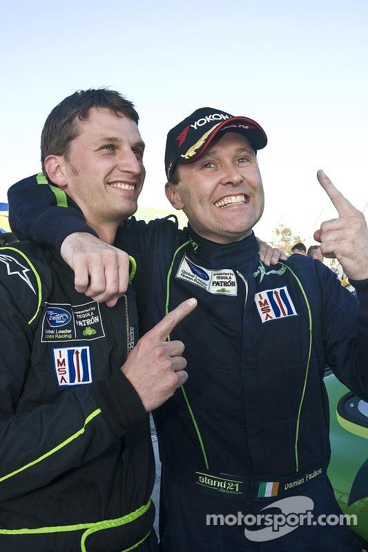 GTC winners Peter LeSaffre, Damien Faulkner