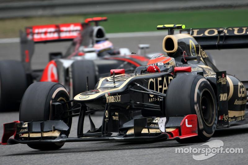 Romain Grosjean, Lotus F1 Team (2012)