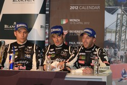 3rd place: Karl Wendlinger, Koen Wauters and Anthony Kumpen