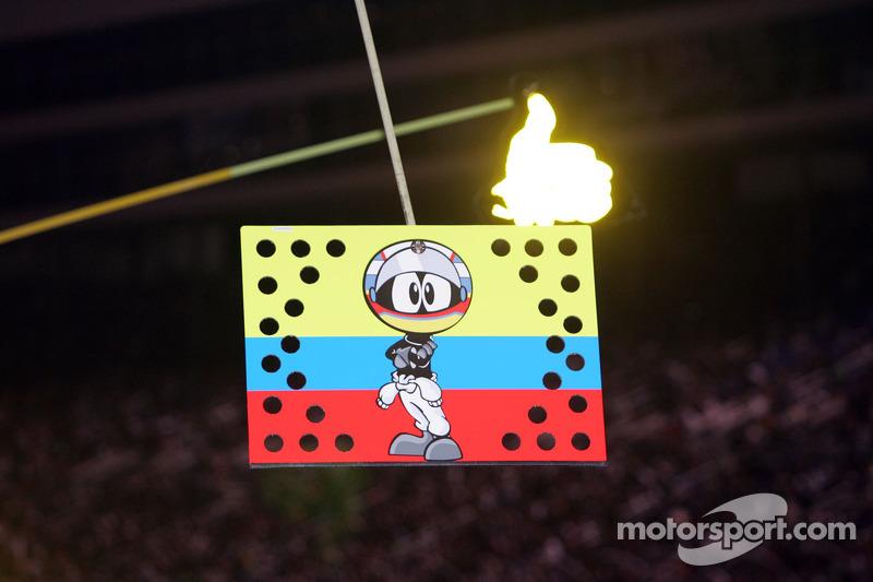 Juan Pablo Montoya, Earnhardt Ganassi Racing Chevrolet pitbord