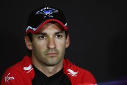 Timo Glock, Marussia F1 Team in the FIA Press Conference