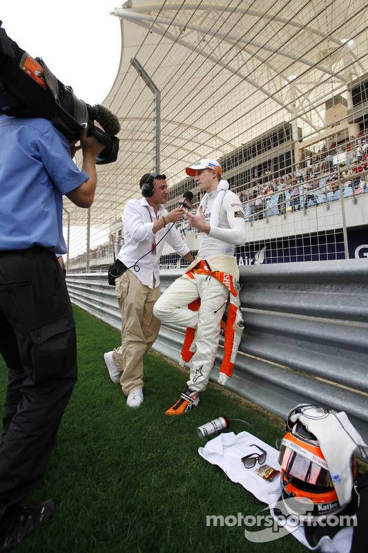 Speed TV's Will Buxton met Nico Hulkenberg, Sahara Force India Formula One Team
