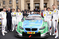 BMW Drivers with Jens Marquardt, BMW Motorsport Director