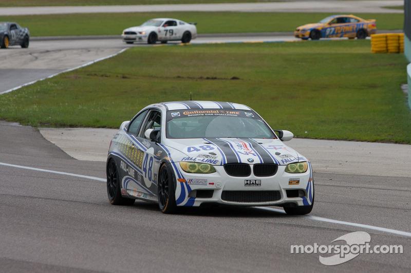 #48 Fall-Line Motorsports BMW M3 Coupe: Charles Espenlaub, Charles Putman