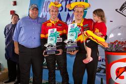 GT podium: second place Dane Cameron and Wayne Nonnamaker