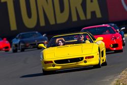 Ferrari owners crusing Infineon