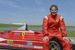Jacques Villeneuve with his father's 312 T4