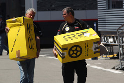 Oz Racing Wheels for the Lotus F1 Team