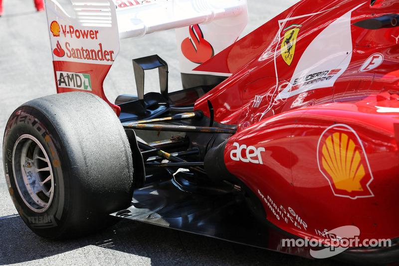 Felipe Massa, Ferrari uitlaat en ophanging