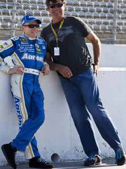 Mark Martin and Michael Waltrip