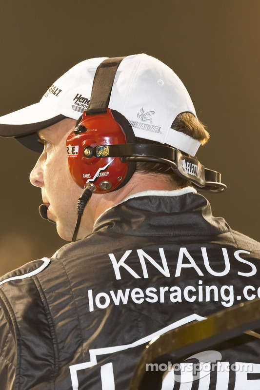 Chad Knaus, Jimmie Johnson, Hendricks Motorsports Chevrolet crew chief