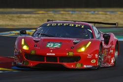 №82 Risi Competizione Ferrari 488 GTE: Тони Виландер, Джанкарло Физикелла, Пьер Каффер