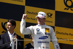 Podio: Tercero clasificado Maxime Martin, BMW Team RBM, BMW M4 DTM