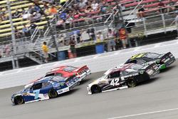 Джастин Алгайер, JR Motorsports Chevrolet и Тайлер Реддик, Chip Ganassi Racing Chevrolet